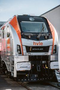 Nominiert für den Innovationspreis des Privatbahn Magazins 2018/2019: Die EURODUAL Lok von Stadler.